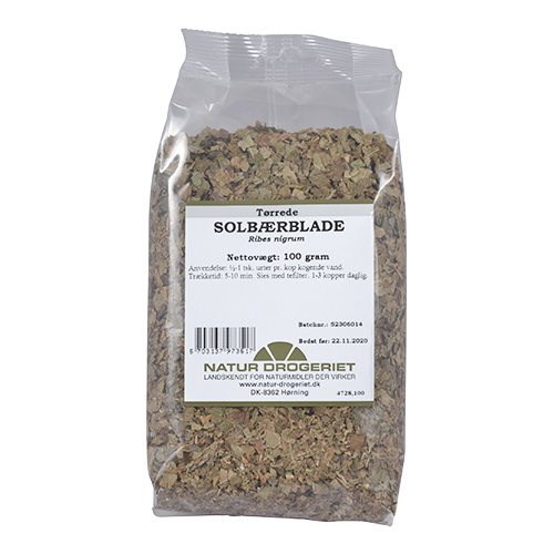 Natur Drogeriet Solbærblade (100 g)