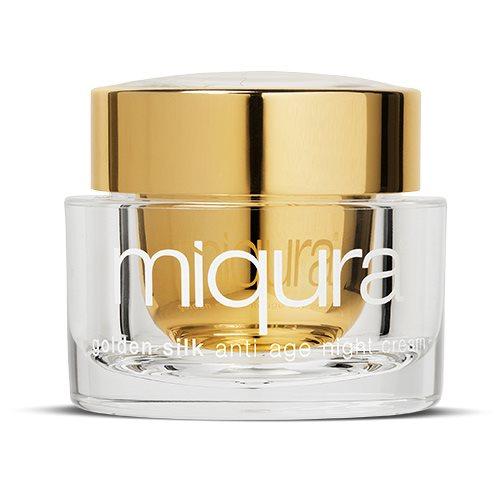 Image of Miqura - Night Cream Anti Age - Golden Silk (50ml)