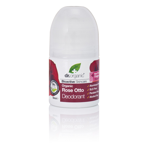 Image of Dr. Organic Deodorant Rose Otto (50 ml)