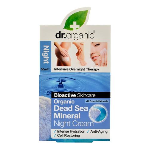 Image of Dr. Organic Night Cream Dead Sea (50 ml)