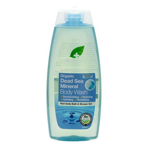 Image of Dr. Organic Bath & Shower Dead Sea (250 ml)