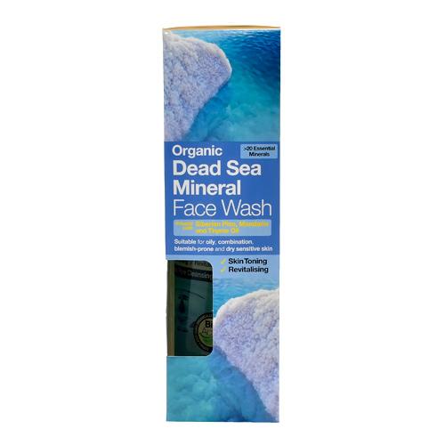 Image of Dr. Organic Face Wash Dead Sea (200 ml)