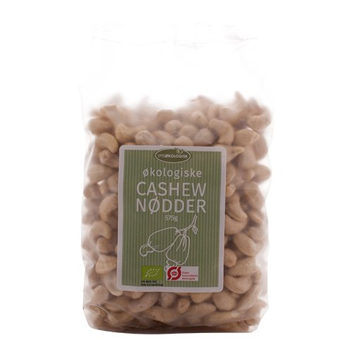 Spis Økologisk cashewnødder fra Helsebixen