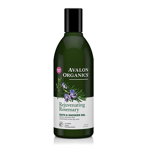 Image of Avalon Organics Bath & Showergel Rosemary Rejuvenating (355 ml)