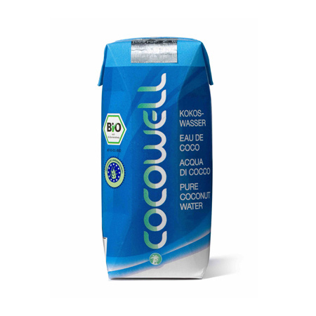 Cocowell kokosvand fra Helsebixen
