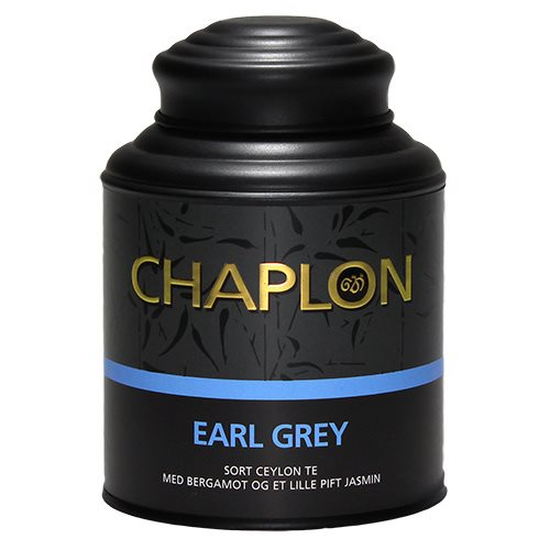 Image of Chaplon Earl Grey sort te dåse Ø (160 g)