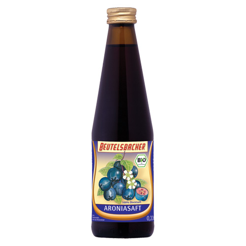 Image of Aronia Juice Ø Beutelsbacher (330 ml)