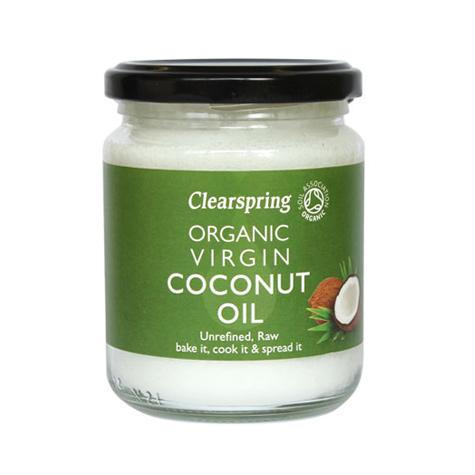Clearspring kokosolie fra Helsebixen