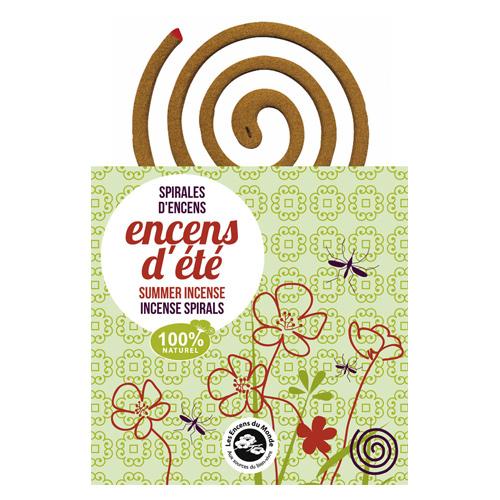 Image of Summer Incense Spiral (10 stk)