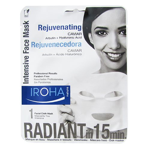Tissue face mask rejuvenating caviar Iroha