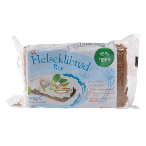 Image of Gundersen Helseklidbrød Rug (100 gr)
