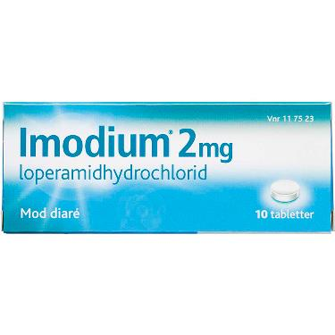 Image of Imodium Tabletter 2MG (10 stk)