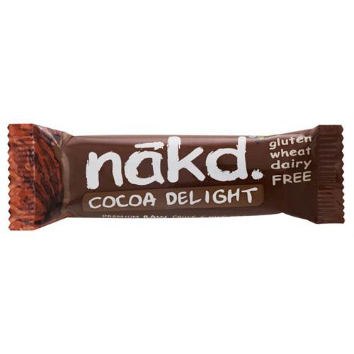 Image of Näk'D Rå Frugt- & Nøddebar Cocoa Delight (35 gr)