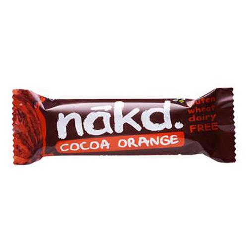 Image of Näk'D Rå Frugt- & Nøddebar Cocoa Orange (35 gr)