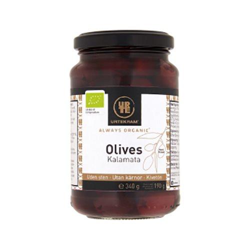 Urtekram kalamata oliven fra Helsebixen