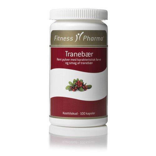 Image of Fitness Pharma Tranebærkapsler (100 kapsler)