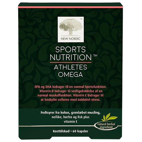 Image of New Nordic Sport Nutrition Athlets Omega (60 kap.)