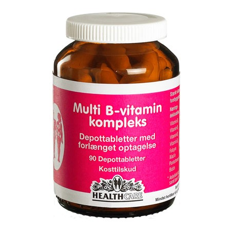 Image of Health Care Multi B-Vitamin kompleks (90 tabletter)
