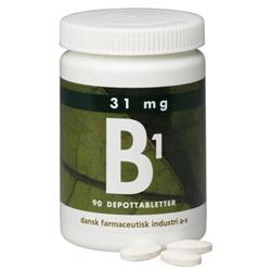 Image of DFI B1 Vitamin 31 mg (90 depotabletter)