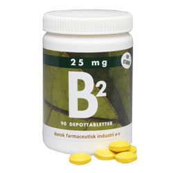 Image of DFI B2 25 mg (90 tabletter)