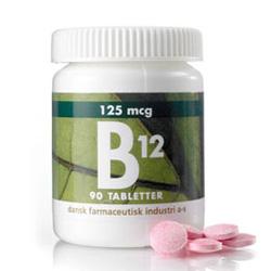 Image of DFI B12 125 mcg (90 tabletter)