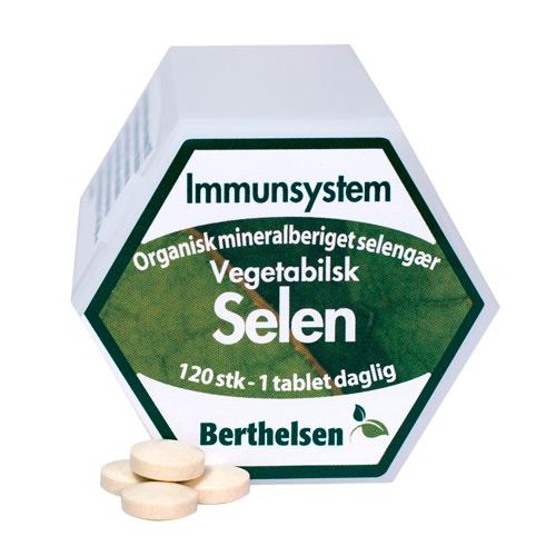 Image of Berthelsen Selen 100 mcg (120 tabletter)