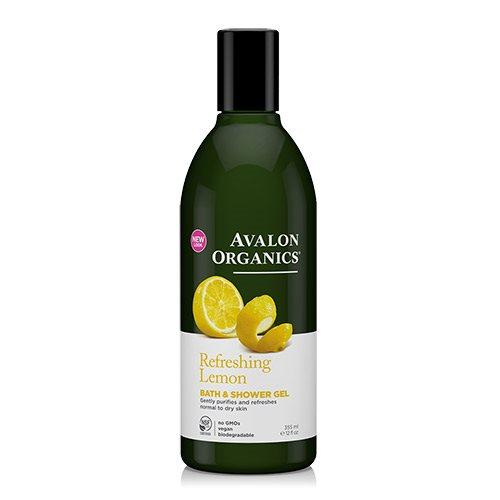 Image of Avalon Organics Bath & Showergel Lemon Refreshing (355 ml)