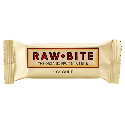 Image of Rawbite Coconut - Laktose- og glutenfri frugt- og nøddebar Ø (50 gr)