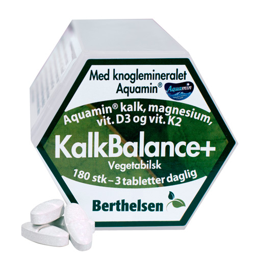 Image of Berthelsen KalkBalance+ (180 tabletter)