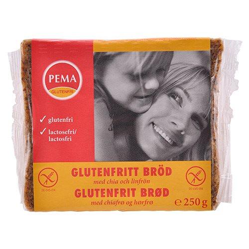 Image of Pema Brød i skiver glutenfri Med chiafrø og hørfrø (250 g)