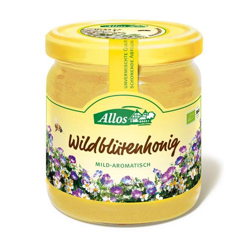Image of Allos Honning Vildblomst Ø (500 gr)
