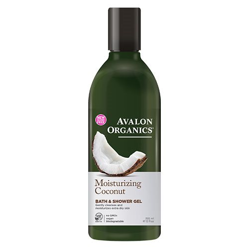 Image of Avalon Organics Bath & Shower Gel Coconut Moisturizing (350 ml)