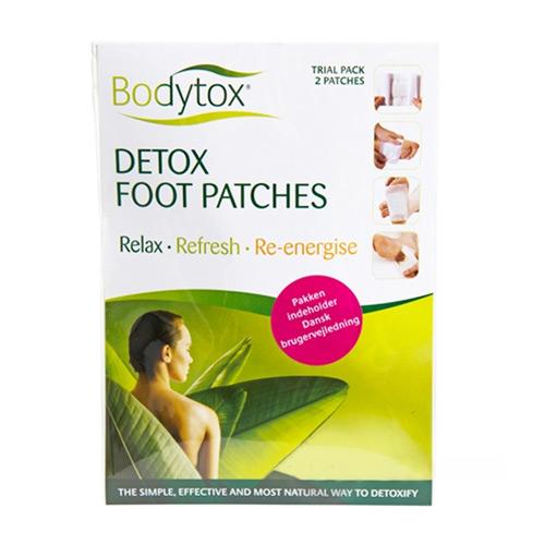 Image of Detox Foot Patches Prøvepakke Indh.2 Stk (1 stk)
