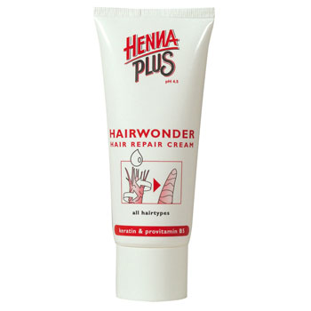 Hair Repair Cream Hairwonder Henna Plus 100 Ml.