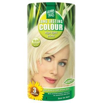 Image of Hennaplus 10.00 Hårfarve Highlight Blond (40 ml)