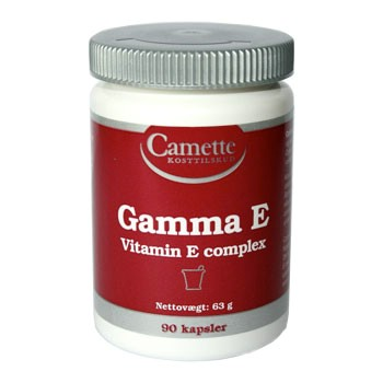Image of Camette Gamma E-Vitamin Complex (90 tabletter)