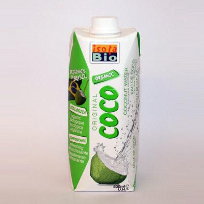 Isola Bio kokosvand fra Helsebixen