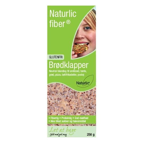 Image of Naturlic Brødklapper Glutenfri Neutral (250 gr)