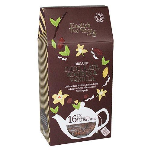 Image of English Tea Shop Chocolate, roibos, vanila tea Ø (16 br)