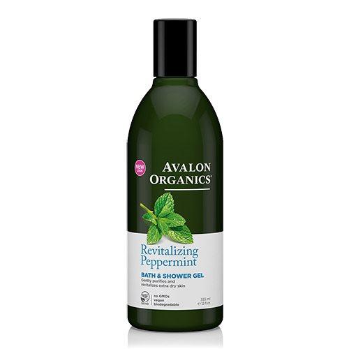 Image of Avalon Organics Bath & Showergel Peppermint Revitlizing (355 ml)