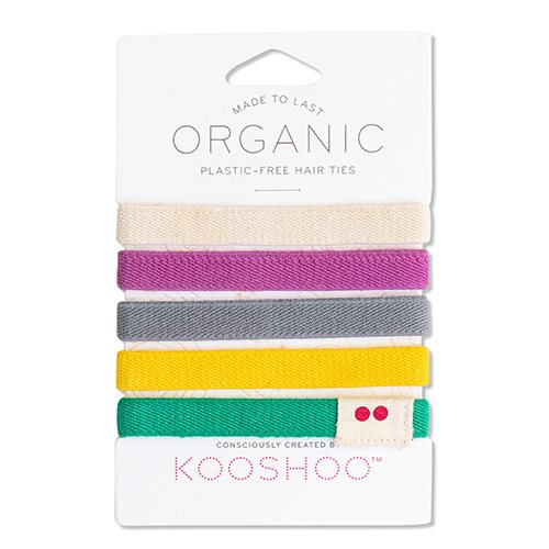 KOOSHOO Hårelastik Farverig (5 stk)