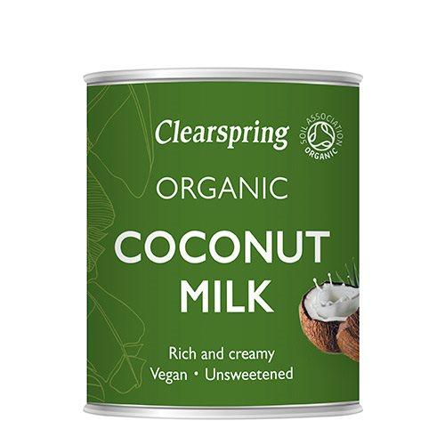 Clearspring kokosmælk fra Helsebixen