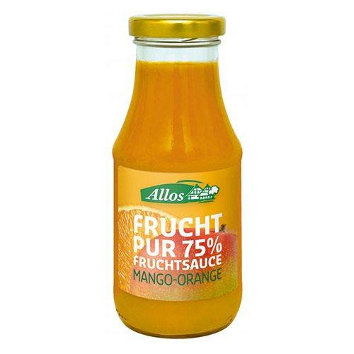 Image of Allos Frugtsauce Mango Appelsin Ø (250 ml)