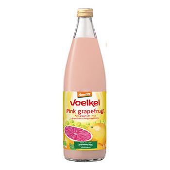 Image of Voelkel Grapefrugtsaft Pink Demeter Ø (750 ml)