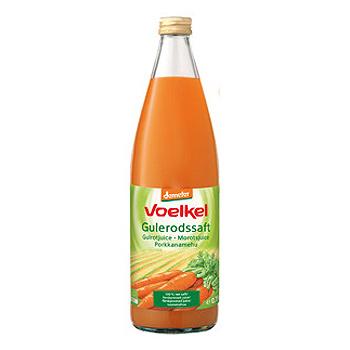 Image of Voelkel Gulerodssaft Demeter Ø (750 ml)