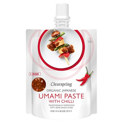 Image of Clearspring Japansk umami paste m chilli Ø (150 g)