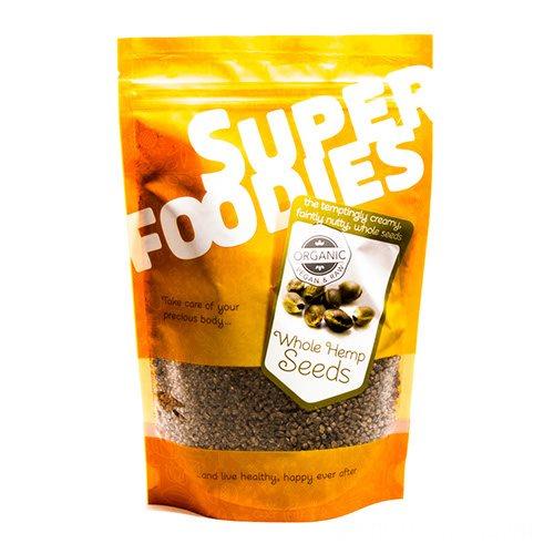 Image of Super Foodies Hampefrø hele Ø (250 g)