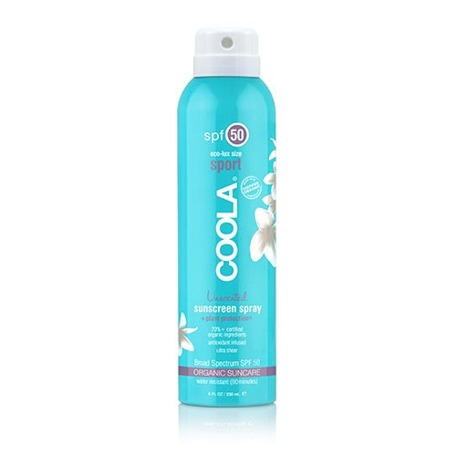 Coola Sport Continuous spray SPF 50 Unscented (236 ml)