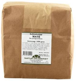 Natur Drogeriet Maté Koffeinholdig (1000 gr)