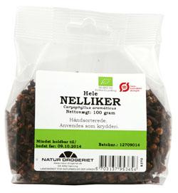 Natur-Drogeriet nelliker fra Helsebixen